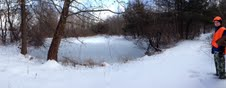 Pond with Ice